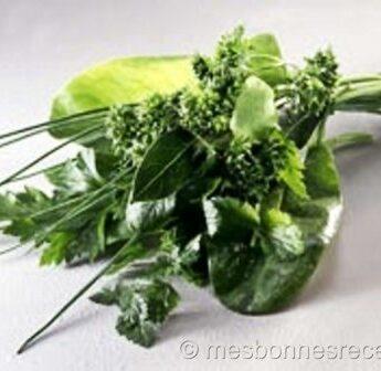 bouquet de fines herbes aromatique
