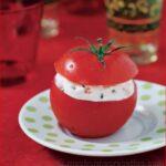 Tomates farcies au chèvre