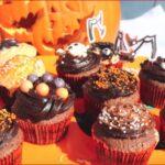 Cupcakes au chocolat d'Halloween