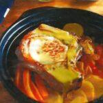Côtes de porc et légumes au curry