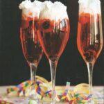 cocktail rouge a la chantilly