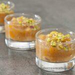 verrines de poires au foie gras