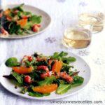 salade d ecrevisses tiedes aux agrumes