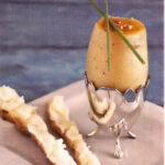 Patates façons coque et mouillettes beurrées