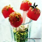 Bonbons de tomates glacées