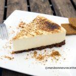 Cheesecake chocolat blanc et spéculoos