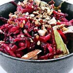 Salade de betterave sésame et amande