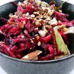 salade de betterave sesame amande