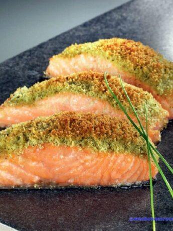 saumon aux herbes
