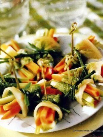 Fagots de légumes
